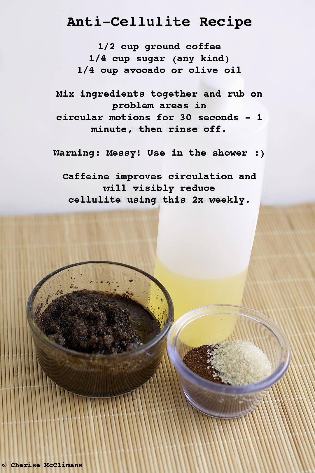cellulite treatment with coffee grounds