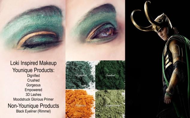 Loki Makeup